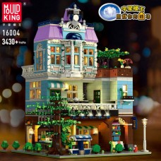Mould King 16004 The Cafe with Light Kit (MOC) 3430 Pcs Building Block Set *FREE SHIPPING*