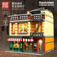 Mould King 16014 Friends Cafe with Lights (MOC-34463) 4488 Pcs Block Set  *FREE SHIPPING*