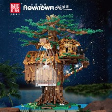 Mould King 16033 Treehouse with Lights (MOC) 3958 Pcs Building Block Set *FREE SHIPPING*