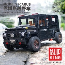 Mould King 13070 RC 1:10 Benz G65 with LED light 1641 Pcs Building Blocks *FREE SHIPPING*