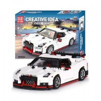 Mould King 13104 GTR Speed Racing Car 1024Pcs Building Blocks *FREE SHIPPING*