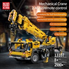 Mould King 13107 RC Mobile Crane Mk II (MOC-0853) 2590 Pcs Building Blocks Set *FREE SHIPPING*