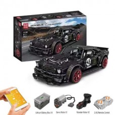 Mould King 13108 Ford Mustang Hoonicorn (MOC-22970) 1:8 2943 Pcs Building Blocks Set *FREE SHIPPING*