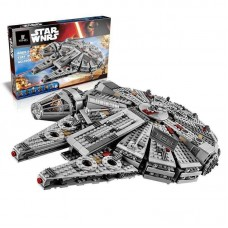 LEPIN 05007 MILLENNIUM FALCON 1381 PIECES Building Block Set *FREE SHIPPING*