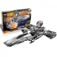 King/Lepin 05008 Sith Infiltrator 698 pieces Star Wars Building Blocks Set*FREE SHIPPING*