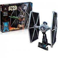 King/Lepin 05036 TIE FIGHTER (Retired 75095) UCS 1685 pcs Star Series Building Block Set *FREE SHIPPING*