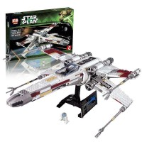 King/Lepin 05039 Red Five X-wing Starfighter (retired) Star Wars UCS 1586 pieces*FREE SHIPPING*