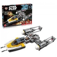 King/Lepin 05040 Y-wing Attack Starfighter (Retired) - UCS Star Wars*FREE SHIPPING*