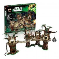 LEPIN 05047 Star Wars EWOK VILLAGE (retired) *FREE SHIPPING*
