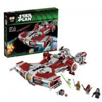King/Lepin 05085 Jedi Defender-Class Cruiser (Retired 75025) 953 pieces Star Wars*FREE SHIPPING*