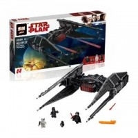 King/Lepin 05127 Kylo Ren's TIE Fighter 705 pieces Star Wars Building Block Set*FREE SHIPPING*
