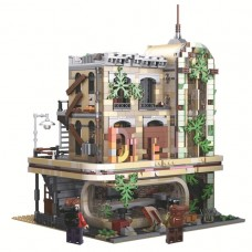 K125 Downtown Diner – Apocalypse Version (10260) 2392 Pcs Super 18K Building Block Set *FREE SHIPPING*