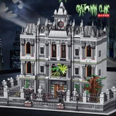 K128 Arkham Lunatic Asylum (MOC-30788) 7620 Pcs Super 18K Building Block Set *FREE SHIPPING*