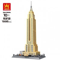 WANGE 5212 Empire State Building New York (MOC) 1995 pcs Building Blocks Set *FREE Shipping*