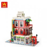 WANGE 6311 Corner Store (MOC) 2332 pcs Building Blocks Set*FREE Shipping*