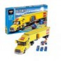 King/Lepin 02036 City Truck (Retired) 298 pcs Building Block Set *FREE SHIPPING*