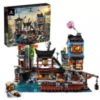 06083 NINJAGO City Docks (70657) 3553 Pcs King/Lepin Building Block Set *FREE SHIPPING*