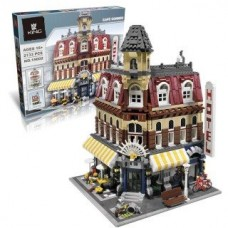 King/Lepin 15002 Cafe Corner (10182) 2133 Pcs Building Block Set *FREE SHIPPING*