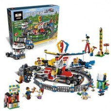 LEPIN 15014 Amusement Park Carnival 1858 Pcs Building Blocks Set *FREE SHIPPING*