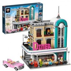 LEPIN 15037 The Downtown Diner 2778 pcs Building Block Set *FREE SHIPPING*