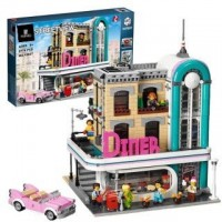 King/Lepin 15037 The Downtown Diner (10260) 2480 pcs Building Block Set *FREE SHIPPING*