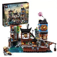 LEPIN 06083 NINJAGO The City Docks 3979 Pcs Building Block Set *FREE SHIPPING*