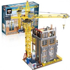 King/Lepin 15031 The construction with Crane 4425 Pcs Building Block Set *FREE SHIPPING*