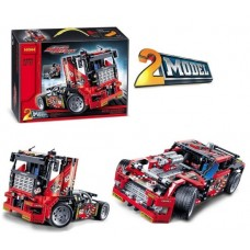 3360 Race Truck Car 2 In 1 Transformable Model (42041) 608 Pcs Decool Building Block Set **Free Shipping**