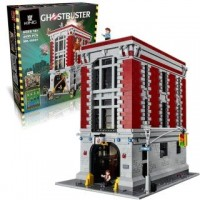King/Lepin 16001 Ghostbusters Firehouse HQ (75827) 4695 Pcs Building Block Set *FREE SHIPPING*