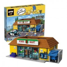LEPIN 16004 The Simpsons The Kwik-E-Mart (Retired) 2430 pieces building block set *FREE SHIPPING*