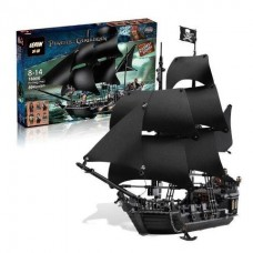 King/Lepin 16006 Pirates of the Caribbean The Black Pearl (Retired) 804 pieces building block set *FREE SHIPPING*