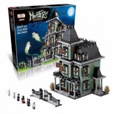 LEPIN 16007 Monster Fighters Haunted House (Retired) 2141 pieces building block set *FREE SHIPPING*