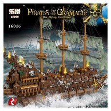 LEPIN 16016 Pirates of the Caribbean The Flying Dutchmen 3600 pieces building block set *FREE SHIPPING*