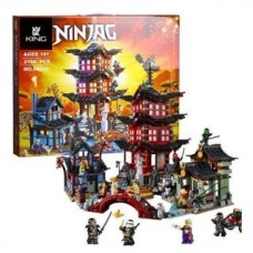 LEPIN 06022 NINJAGO Temple of Airjitzu 2150 pcs (70751) Building Block Set *FREE SHIPPING*