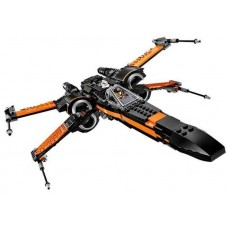King/Lepin 05004 First Order Poe's X-wing Fighter (75102) 736 pcs Building Block Set *FREE SHIPPING*