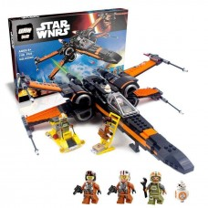 LEPIN 05004 First Order Poe's X-wing Fighter 736 PIECES  Star Wars building block set *FREE SHIPPING*