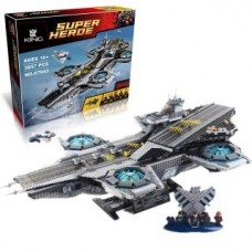 King/Lepin 07043 Shield Helicarrier (Retired 76042) 3057 Pcs Building Block Set *FREE SHIPPING*