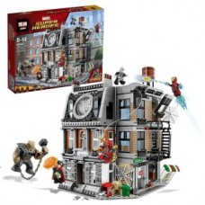 LEPIN 07107 Super Heros Sanctorum Showdown 1125 pcs Building Block Set *FREE SHIPPING*