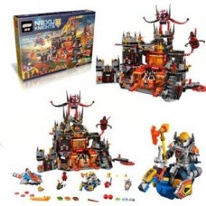 King/Lepin 14019 Jestro's Volcano Lair 1244 pcs Building Block Set *FREE SHIPPING*
