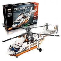 King/Lepin 20002 HEAVY LIFT HELICOPTER 1060 PIECES  building block set*FREE SHIPPING*