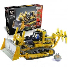 King/Lepin 20008 Motorised Bulldozer Technics / 1384 (retired) building block set *FREE SHIPPING*