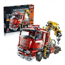 King/Lepin 20013 Crane Wrecker Truck 1877 Pcs (retired) building block set *FREE SHIPPING*