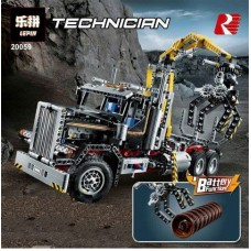 LEPIN 20059 Logging Truck (Retired) 1338 pieces *FREE SHIPPING*