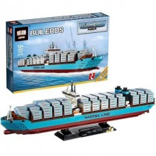 King/Lepin 22002 Maersk Line Triple-E Ship (Retired) 1518 pieces*FREE SHIPPING*