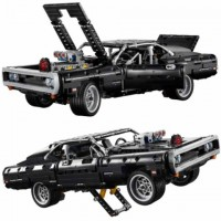 43211 Doms 1970 Dodge Charger (42111 Compatible) 1104 Pcs Qiye Tech Building Block Set *FREE SHIPPING*