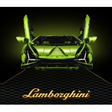 81996 Lamborghini SIAN FKP37 (SK81996, 42115) 3696 Pcs Tech Building Block Set *FREE SHIPPING*