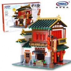 XINGBAO 01001 Chinese Silk and Satin Store (MOC) 2787 pcs Building Blocks Set *FREE SHIPPING*