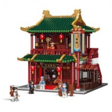 XINGBAO 01022 The Wanfu Inn (MOC) 3046 pcs Building Blocks Set*FREE SHIPPING*