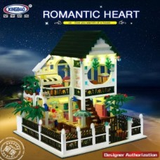 XINGBAO 01202 Romantic Heart House 1500 pcs Building Blocks Set *FREE SHIPPING*