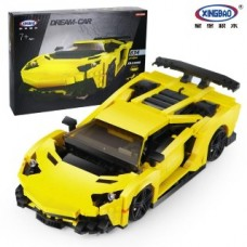 XINGBAO 03008 Yellow Flash Racing Car 834 pcs Building Blocks Set *FREE SHIPPING*